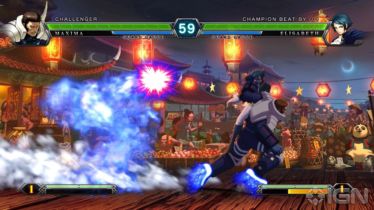 Популярный файтинг the king of fighters-a 2012 возвращается на android платформу, похорошевший и посвежевший!